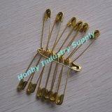 Gouden Kleur 38mm van de Levering van de fabriek de Gemeenschappelijke Veiligheidsspeld van het Metaal