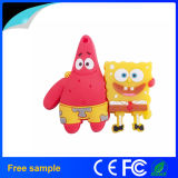 Atacado Custom Rubber Cartoon Sponge USB Flash Drive
