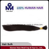 Prolongation brésilienne de cheveux en vrac de cheveux de courbure de Remy