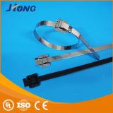 De epoxy Met een laag bedekte Band van de Kabel van het Roestvrij staal van het Type van Releaseable van het Type
