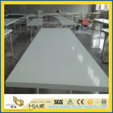 Commercial Pure White Quratz Stone Countertop for Bathroom