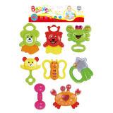 플라스틱 아이 장난감 고정되는 아기 가르랑거리는 소리 (H5749206)
