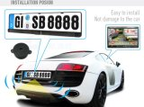 3 in 1 Number europeo Plate Rear View Camera Parking Sensor System