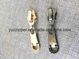 OEMの発注のための金銃カラーめっきの金属のジッパーのスライダ