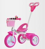De Baby Trikce Met drie wielen van drie Wielen met de Staaf van de Duw