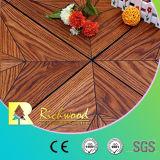 Revestimento estratificado de madeira da textura do Woodgrain da prancha AC3 do vinil do anúncio publicitário 8.3mm