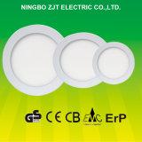 luz de painel redonda do diodo emissor de luz 3W com certificado do Ce