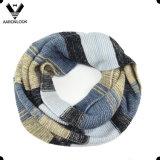 2016 최신유행 다채로운 줄무늬 뻗기에 의하여 뜨개질을 한 스카프를 비치해야 한다