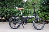 """20 """" gomma 250W che piega bici elettrica En15194"""