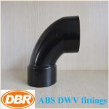 ABS Dwv di formato di 1.5 pollici che misura 1/4 di curvatura della via