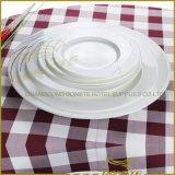 Modèle irrégulier de vaisselle occidentale