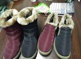 Славной PU единственный ботинок и более дешевой зимы полиэфира верхней вскользь