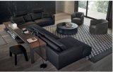 L sofà del salone del tessuto di figura (SF071)