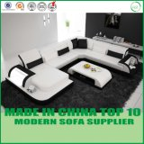 Sofà di cuoio moderno di nuovo disegno del sofà