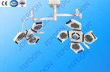 外科部屋のための天井によって取付けられるLEDの外科操作ランプ