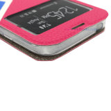 Hochwertige Telefon-Zubehör PU magnetischer waches/schlafendes Bildschirm-Kippen-beweglicher Fall/Deckel