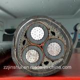 Твердый сердечник или плотно отжатый Twisted кабель стального провода штрафа проводника участка внутренний бронированный изолированный XLPE