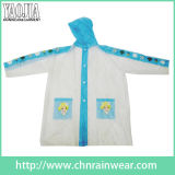 PVC Coating Waterproof Rain Wear di Design del fumetto per Children
