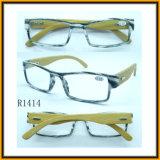De nieuwe Glazen van de Lezing met Banboo Wapens, Ce&FDA (R1414)