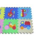 Esteiras reversíveis high-density do enigma Jigsaw do assoalho da espuma de EVA para o uso educacional