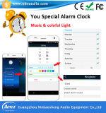 2016 radio Smart LED Light Bulb Bluetooth Speaker con il CE di Timer APP Control, RoHS