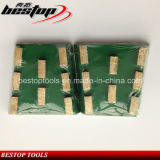 Bestop 8 Сегменты Алмазный шлифовальный инструмент для обработки камня и бетона