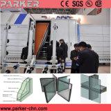 Máquina de cristal aislada doble aislador