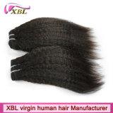Unprocessed перуанские человеческие волосы выдвижений волос