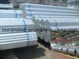 Galvanizado Transporte de gas de tubería de acero
