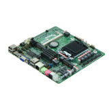 Intel H61 LGA1155 I3/I5/I7 2 Com Super Slanke mini-Itx bedde allen in Één Motherboard HTPC in