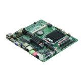 Intel H61 LGA1155 I3/I5/I7 2 COM極度の細い小型ITXは1枚のHTPCのマザーボードですべてを埋め込んだ