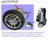 24V 250W de Motor van de Rolstoel van de Macht van de Economie & Brushless Motor van de Rolstoel met Foldawheel