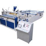 Máquina automática llena el rebobinar del papel higiénico