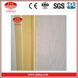 Grão de madeira da placa de alumínio que faz os trilhos da escada da parede de cortina (Jh154)