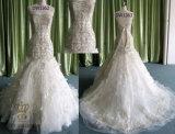Большинств шикарный Mermaid повелительниц Wedding Bridal партия выравнивая официально платье