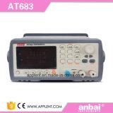 Appareil de contrôle de Megger avec la gamme automatique et manuelle (AT683)