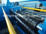 Rolo galvanizado da plataforma do piso de aço que dá forma à máquina