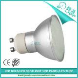 5W GU10 LED Lampen-graues Aluminiumhaus