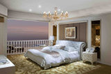 최신 판매 현대 침실 가구 성숙한 가죽 침대 (HC1031)