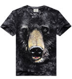 Custom superiore 3D Logo Printing T Shirt