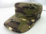 Chapéu fresco das forças armadas do bordado da impressão da forma