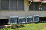Piso de ahorro del 50% que coloca el acondicionador de aire solar híbrido de la eficacia alta
