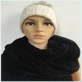 Фабрика шарфа пробки ватки PV шеи черного способа молодая
