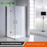 Caixa Walk-in de alumínio do chuveiro da porta para o banheiro
