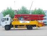 トラックによって取付けられる具体的なブームポンプ