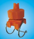 Ugello di plastica del morsetto di Ajdustable di punta piana del ventilatore di serie di Jk
