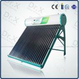 Calefator de água solar Non-Pressurized compato de venda quente da câmara de ar de vácuo 2016