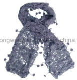 Handmade акриловый связанный шарф вязания крючком
