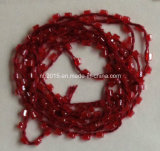 GlasBeads Strings/Glass Beads mit Threads/Pearl Beads mit Threads