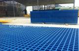 Fibre de verre directe de l'approvisionnement FRP GRP d'usine râpant pour le fossé